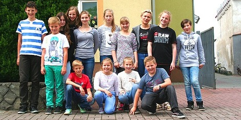 Die Global Green Kids in Polen